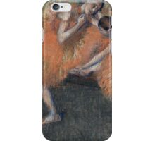 Edgar Degas - Two Dancers ( 1898) iPhone Case/Skin