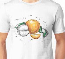 Hand drawn Tangerine Unisex T-Shirt