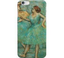 Edgar Degas - Two Dancers,  1905 iPhone Case/Skin