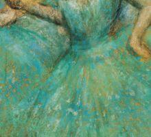 Edgar Degas - Two Dancers,  1905 Sticker