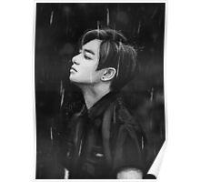 Jungkook rain Poster