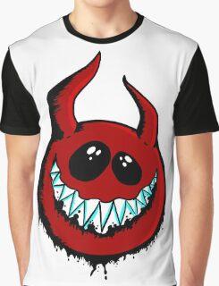 Happy Demon Graphic T-Shirt