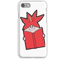 Reading Rainbow in Harmony - Red iPhone Case/Skin