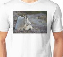 Mountain Goat Watching the Sunset Unisex T-Shirt