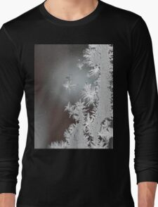 """A Portrait of Frost""  Long Sleeve T-Shirt"