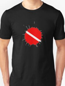 Dive flag paint splatter T-Shirt