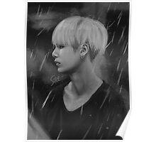 Yoongi rain Poster