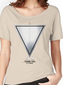 We can only Thank you ....RIP Robin Women's Relaxed Fit T-Shirt