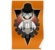 Clockwork Mario Poster