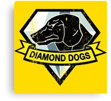 Diamond Dogs Logo by Shoro Canvas Print