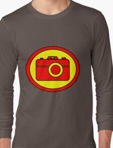 Hero, Heroine, Superhero, Super Photographer Long Sleeve T-Shirt