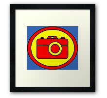 Hero, Heroine, Superhero, Super Photographer Framed Print
