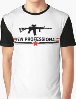 Pew Professional Graphic T-Shirt