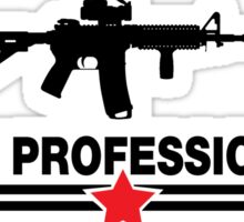Pew Professional Sticker