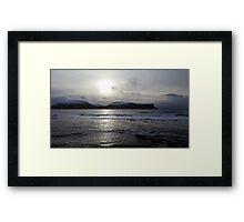 Scottish Coatsal Landscape Framed Print