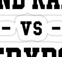 Grand Rapids vs Everybody Sticker