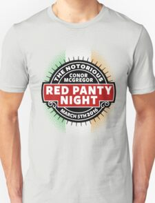 Conor Mcgregor, Red Panty Night T-Shirt
