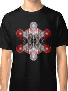 Metatron's Cube red Classic T-Shirt