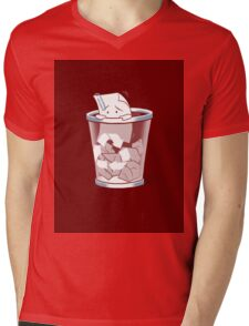The Paper is Wasted Mens V-Neck T-Shirt