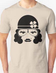 Vintage female face Unisex T-Shirt
