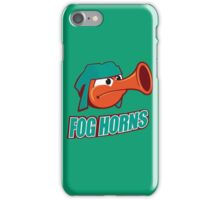 Inside Out San Francisco Fog Horns Riley Hockey iPhone Case/Skin