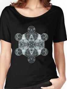 Metatron's Cube Women's Relaxed Fit T-Shirt
