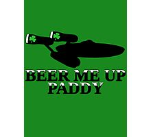 Funny Irish beer themed  Photographic Print