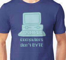 Computers Don't BYTE Unisex T-Shirt
