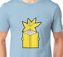 Reading Rainbow in Harmony - Yellow Unisex T-Shirt