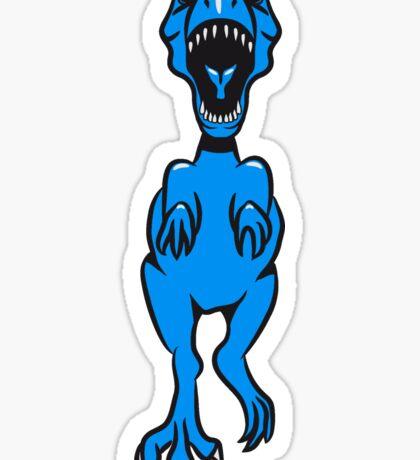 Dinosaur T Rex Tyrannosaurus Rex danger Sticker