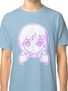 Cute Anime Girl - Hair Clips Classic T-Shirt