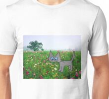 Blue Eyed Cat Unisex T-Shirt
