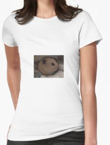 egg hamster Womens Fitted T-Shirt