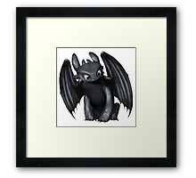 Night Fury 1 Framed Print