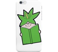 Reading Rainbow in Harmony - Green iPhone Case/Skin