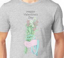 Gal/Valentine Bouquet (text)  Unisex T-Shirt