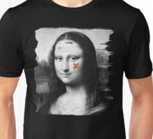 Restored Mona Lisa   Unisex T-Shirt