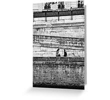 Paris - Miss en Seine Greeting Card
