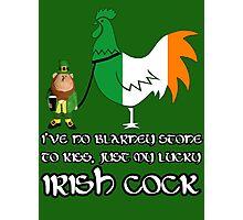 Funny Irish St Patrick's Day Photographic Print