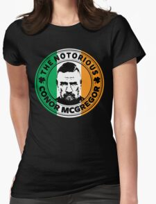 The Notorious Conor Mcgregor Womens Fitted T-Shirt