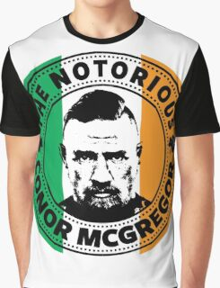 The Notorious Conor Mcgregor Graphic T-Shirt