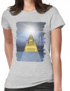 Da Vinci Last Supper revisited b Womens Fitted T-Shirt