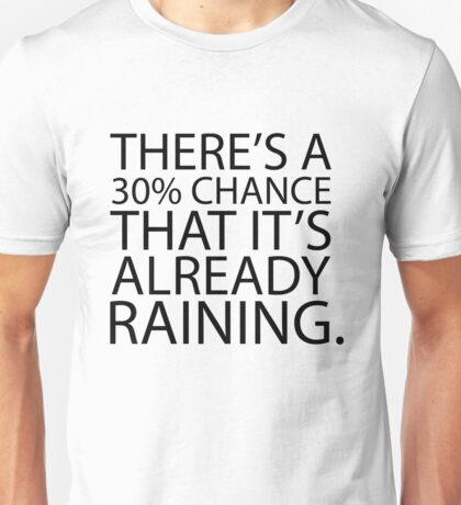 Mean Girls - Weather Forecast Unisex T-Shirt