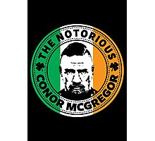 The Notorious Conor Mcgregor Photographic Print