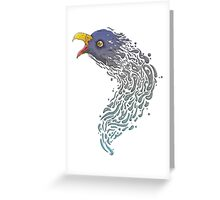 Eagle Jelly Greeting Card