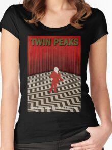 Twin Peaks Red Room Women's Fitted Scoop T-Shirt