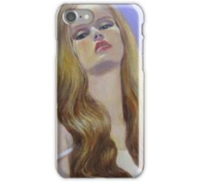 A PROVOCATIVE LADY iPhone Case/Skin