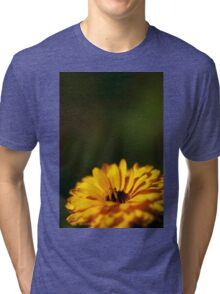 yellow calendula (2) Tri-blend T-Shirt