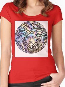 VRSC ·01· Women's Fitted Scoop T-Shirt