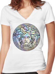 VRSC ·01· Women's Fitted V-Neck T-Shirt